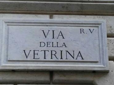 Das ist MEINE Straße in Rom!