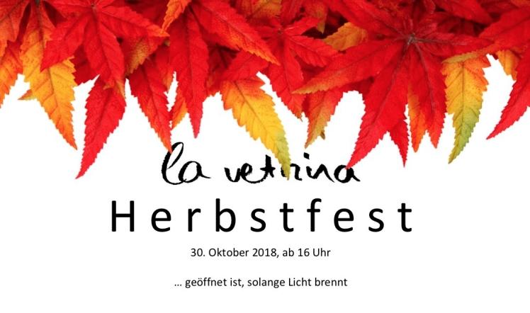 La Vetrina Herbstfest Grafik