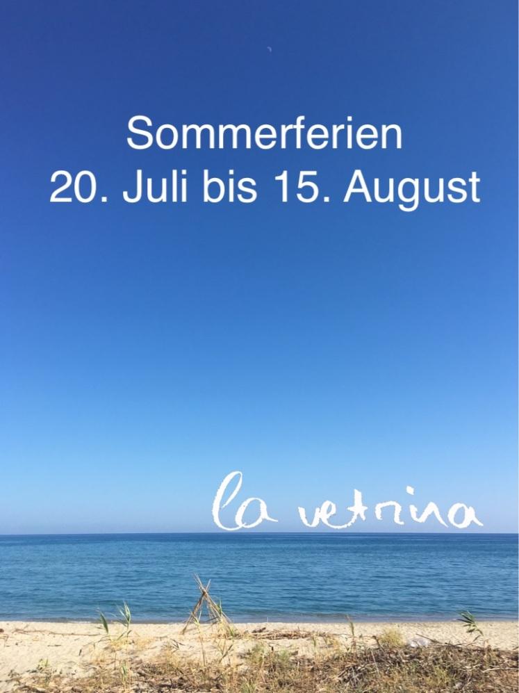 Sommerferien 2020